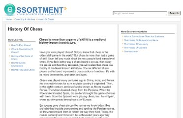 http://www.essortment.com/history-chess-58757.html