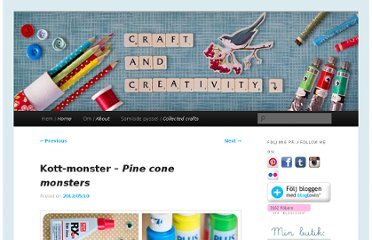 http://craftandcreativity.com/blog/2012/05/10/pineconemonster/