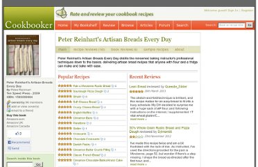 http://www.cookbooker.com/title/1782/peter-reinharts-artisan-breads-every-day