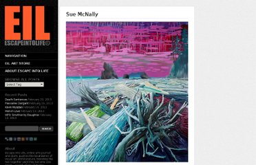 http://www.escapeintolife.com/painting/sue-mcnally/