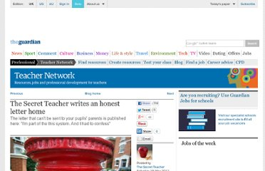 http://www.guardian.co.uk/teacher-network/teacher-blog/2012/may/19/secret-teacher-letter-home