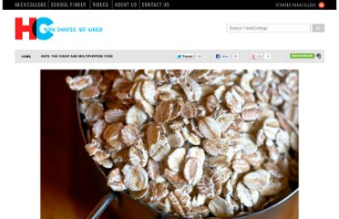 http://www.hackcollege.com/blog/2011/10/27/oats-the-cheap-and-multipurpose-food.html