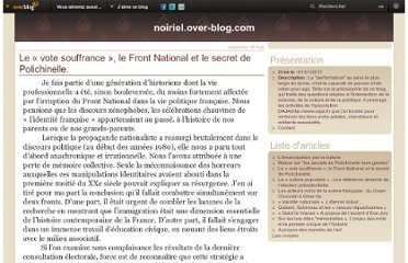 http://noiriel.over-blog.com/article-le-vote-souffrance-le-front-national-et-le-secret-de-polichinelle-105396405.html