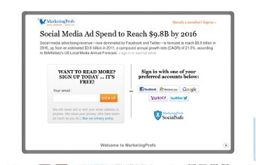 http://www.marketingprofs.com/charts/2012/7929/social-media-ad-spend-to-reach-98b-by-2016