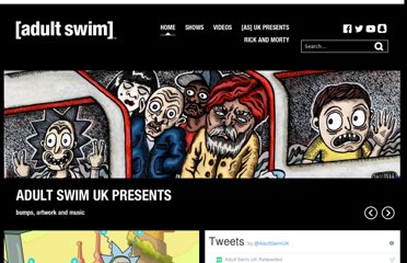 Watch Adult Swim TV shows online for free and play free online games.