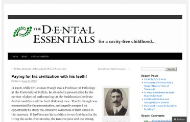 http://thedentalessentials.wordpress.com/2010/06/11/paying-for-his-civilization-with-his-teeth/
