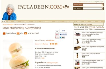 http://www.pauladeen.com/recipes/recipe_view/mini_lemon_pork_sandwiches/