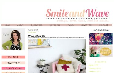 http://smileandwave.typepad.com/blog/fabric-craft/