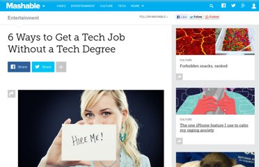 http://mashable.com/2012/05/19/tech-job-tips/