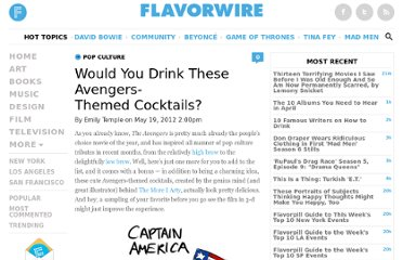 http://flavorwire.com/291495/would-you-drink-these-avengers-themed-cocktails