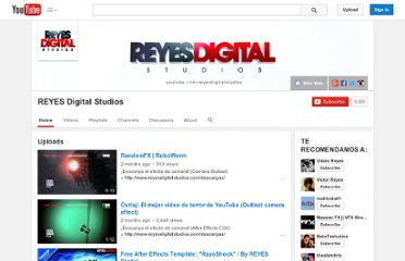 http://www.youtube.com/user/reyesdigitalstudios