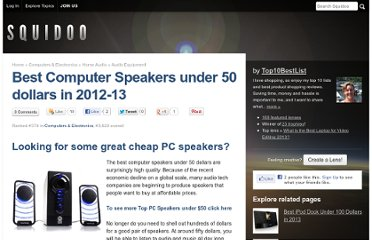 http://www.squidoo.com/best-computer-speakers-under-50