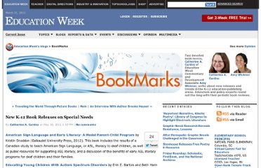 http://blogs.edweek.org/edweek/bookmarks/2012/05/new_releases_on_special_needs.html