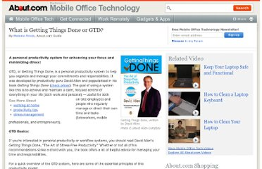 Getting Things Done: GTD in a Getting Things Don