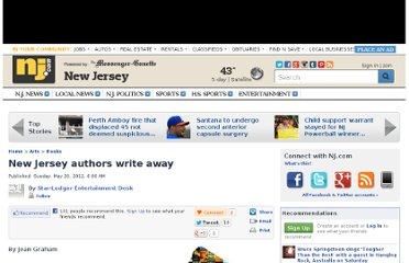 http://www.nj.com/entertainment/arts/index.ssf/2012/05/new_jersey_authors_write_away.html