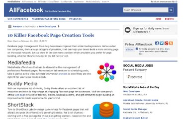 http://allfacebook.com/10-facebook-page-creation-tools_b32259