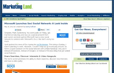 http://marketingland.com/microsoft-launches-so-cl-social-network-a-quick-look-12499