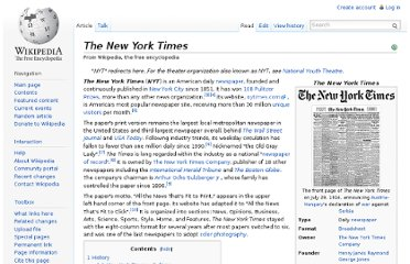 http://en.wikipedia.org/wiki/The_New_York_Times
