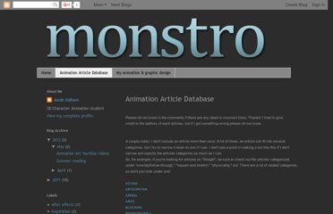 http://monstroanimation.blogspot.com/p/animation-article-database.html