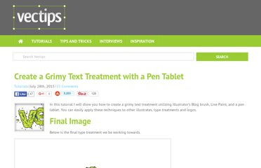 http://vectips.com/tutorials/create-a-grimy-text-treatment-with-a-pen-tablet/