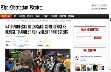 http://libertarianreview.us/2012/05/20/nato-protests-in-chicago-some-officers-refuse-to-arrest-non-violent-protesters/