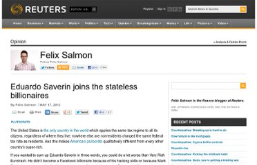 http://blogs.reuters.com/felix-salmon/2012/05/17/eduardo-saverin-joins-the-stateless-billionaires/