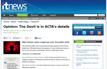 http://www.itnews.com.au/News/172820,opinion-the-devil-is-in-actas-details.aspx