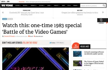 http://www.theverge.com/2012/5/20/3032815/watch-this-one-time-1983-special-battle-of-the-video-games
