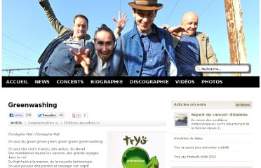 http://www.tryo.com/site/post/2012/04/10/Lyrics-Greenwashing-Tryo
