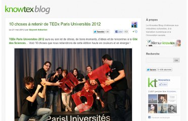 http://www.knowtex.com/blog/10-choses-a-retenir-de-tedx-paris-universites-2012/