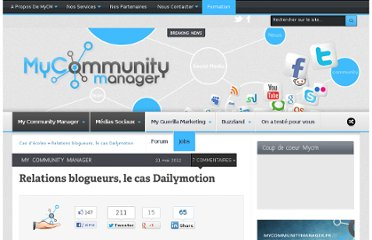 http://www.mycommunitymanager.fr/relations-blogueurs-le-cas-dailymotion/