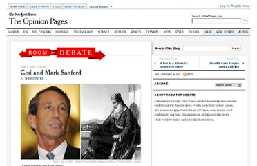 http://roomfordebate.blogs.nytimes.com/2009/07/01/god-and-mark-sanford/