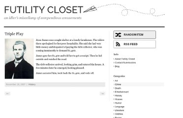 http://www.futilitycloset.com/2007/11/18/triple-play/