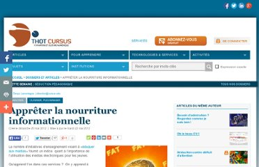 http://cursus.edu/article/18325/appreter-nourriture-informationnelle/