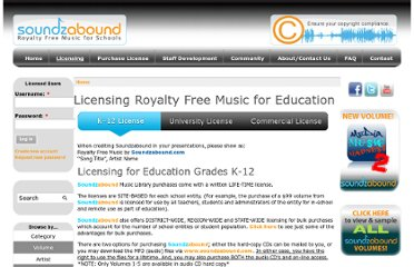 http://www.soundzabound.com/licensing-royalty-free-music-education