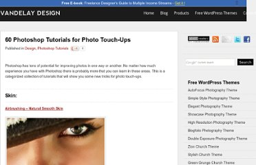 http://vandelaydesign.com/blog/design/photoshop-touchup-tutorials/