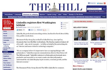 http://thehill.com/business-a-lobbying/228599-linkedin-registers-first-washington-lobbyist