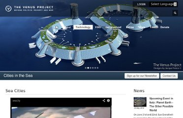 http://thevenusproject.com/technology/cities-in-the-sea