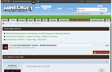 http://www.minecraftforum.net/topic/516745-125-evilminecraft-v0666-bugfix-released/