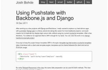 http://joshbohde.com/blog/django-backbone-pushstate
