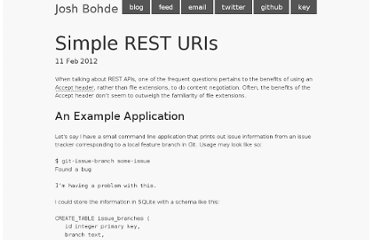 http://joshbohde.com/blog/simple-rest-uris