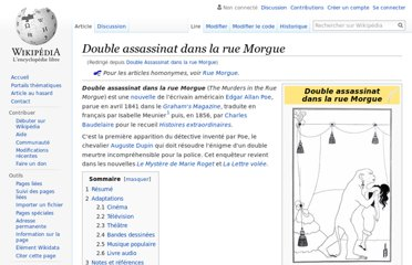 http://fr.wikipedia.org/wiki/Double_Assassinat_dans_la_rue_Morgue