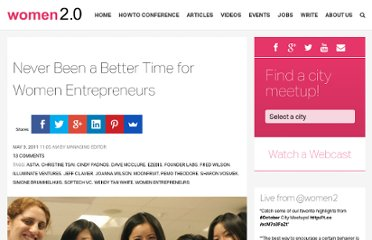 http://www.women2.com/never-been-a-better-time-for-women-entrepreneurs/
