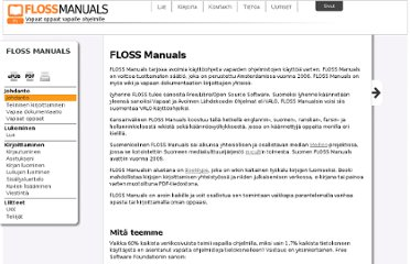 http://fi.flossmanuals.net/floss-manuals/