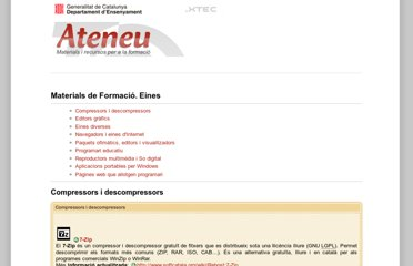 http://ateneu.xtec.cat/wikiform/wikiexport/materials/eines/index