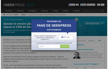 http://www.geekpress.fr/wordpress/astuce/jquery-version-wordpress-cdn-google-1195/#