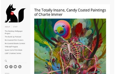 http://www.thefoxisblack.com/2011/03/18/the-crazy-candy-coated-paintings-of-charlie-immer/