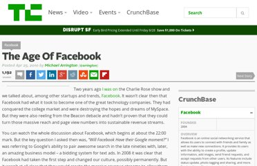 http://techcrunch.com/2010/04/25/the-age-of-facebook/
