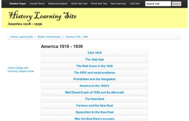 http://www.historylearningsite.co.uk/america_1918.htm