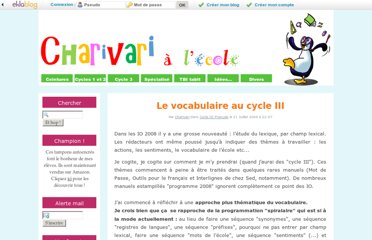 http://www.charivarialecole.fr/le-vocabulaire-au-cycle-iii-a593592